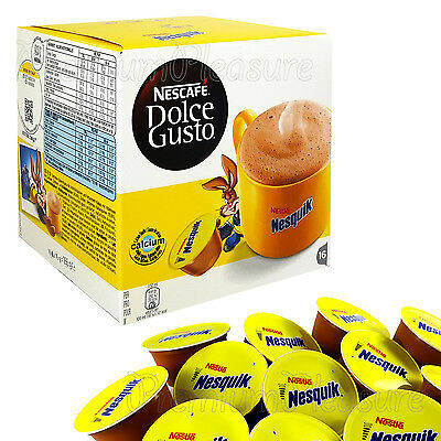 Nescafe Dolce Gusto NESQUIK Coffee pods Hot Chocolate x 2 6 12 20 32 capsules