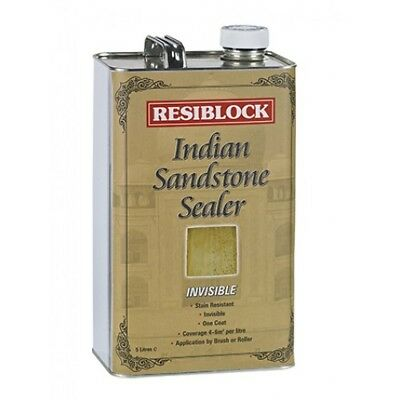 Resiblock Indian Sandstone Sealer 5 Ltr | Colour Enhancer | Invisible Stone