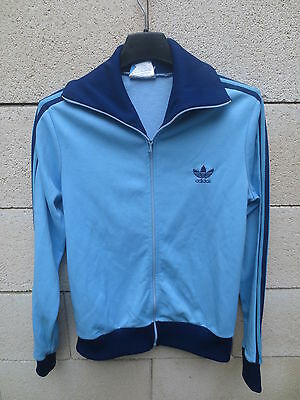 Veste ADIDAS vintage VENTEX made in France années 70 tracktop giacca jacket XS