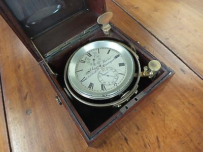 Antique Frodsham and Keen Marine Ships Chronometer