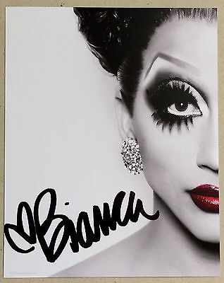 Bianca Del Rio * Hand Signed Photo Print * Bn&m! * Drag Race * Roy Haylock