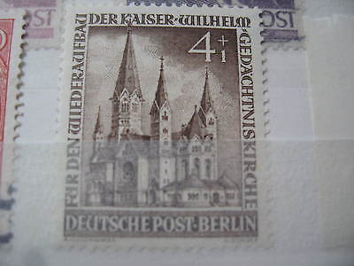 Timbre Allemagne Berlin Neuf* 1953 - N° 92
