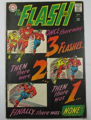 The Flash #173 1967 DC GOLDEN AGE FLASH & KID FLASH Barry Allen Jay Garrick