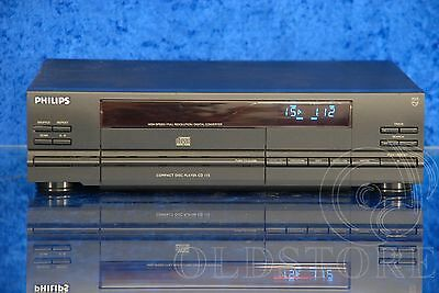 ►Philips Cd 115◄ Lettore Cd Player Cdm4 Dac Tda1543 Old School Vintage Top !!