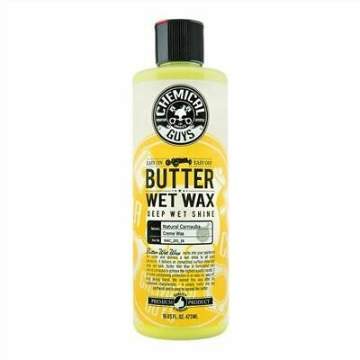 Chemical Guys Vintage Series Butter Wet Wax 16 oz + FREE PAIR OF RUBBER GLOVES!