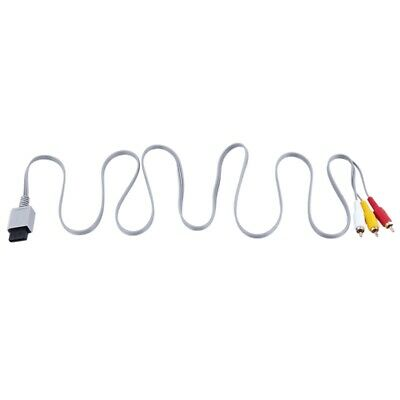 Audio Video AV Composite 3RCA Cable Cord Connector for Nintendo Wii Game B5P1