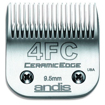 Andis 64295 # 4FC CeramicEdge Carbon-Infused Steel Finish Cut Clipper Blade