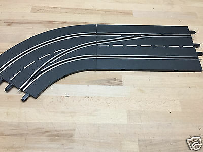 CARRERA 30363 DIGITAL 124/132 Track Change Curve Left Exterior to Interior NEW