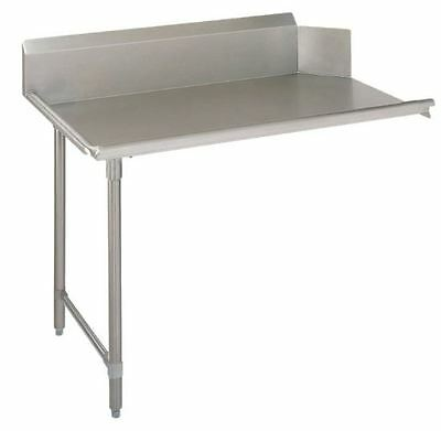 Stainless Steel Commercial Kitchen Clean Dish Table – Left Side – 30 x 60 G