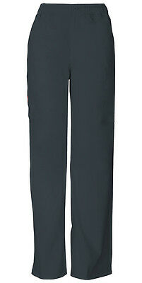 Scrubs Dickies Men's Zip Fly Pull-On Pant 81006 PTWZ Pewter Free Shipping