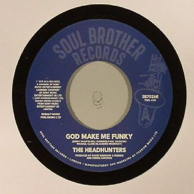"HEADHUNTERS, The - God Make Me Funky (reissue) - Vinyl (7"")"