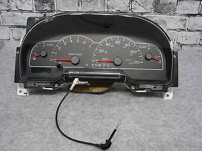 01 03 Ford Windstar Sdometer Instrument Cer W Out Message Center Oem