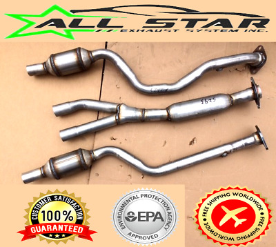 FITS;06-08 Lexus IS250/IS350-Y-PIPE WITH 2 CATS (1 Resonator, 2 O2's) 529325