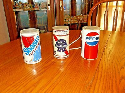 Lot Of (3) Advertising Am Transister Radios,pepsi,shasta,pabst, Tested All Work!