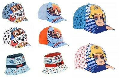 Kids Boys Girls Official Paw Patrol Baseball Caps Summer Hats Ages 2-8