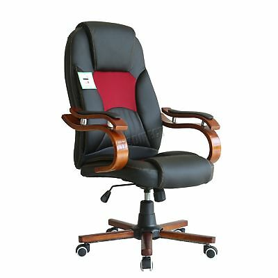 WestWood Computer Executive Office Chair PU Leather Swivel High Back OC02 Black