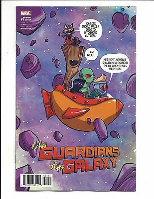 All-New Guardians Of The Galaxy # 1 (Young Baby Variant, July 2017), Nm New