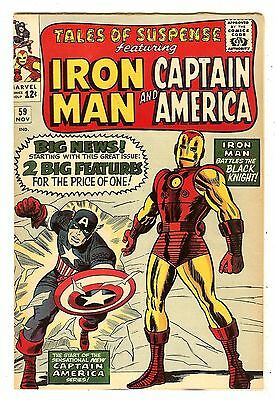 Tales Of Suspense 59   1st Captain America solo story