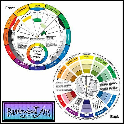 Artists Pocket Color Wheel & Mixing Guide - 13cm