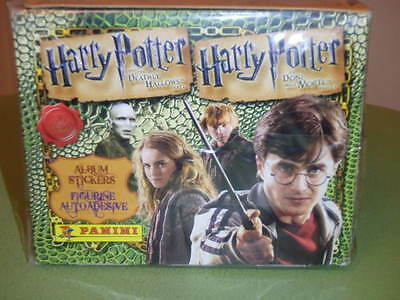 Panini Harry Potter and the Deathly Hallows Part 1 Sticker Box-UNOPENED