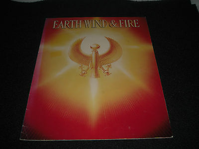EARTH WIND AND FIRE 1979 Concert Tour Program