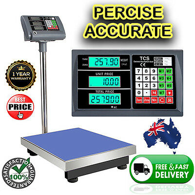 Electronic Digital Weight Measuring Scale Platform Shop Business Warehouse