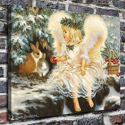 "12""x16""Good little angel Paintings HD Print on Canvas Home Decor Wall Art Pictur"