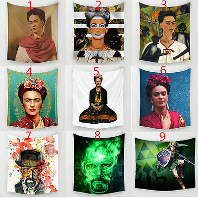 Frida Carlo & Harry Quinn Polyester Hanging Tapestry  Wall Sticker Home Decor
