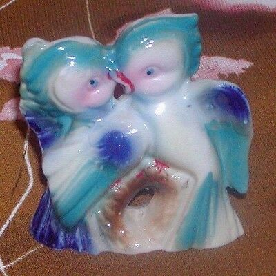 Vintage 1950's Love Birds Figurine Japan