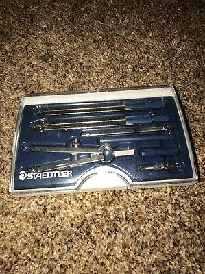 STAEDTLER Mars 9 Piece Professional Compass Tool Set in Case
