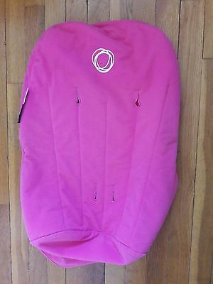 Bugaboo Cameleon Pink Fleece Toddler Seat Cover / Fabric Liner Rrog