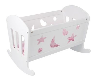 Cradle for dolls Fabbrica of dreams in wood game/toy x bambine