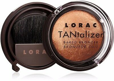Lorac Tantalizer Baked Bronzer in Bronze - Full Size - NIB