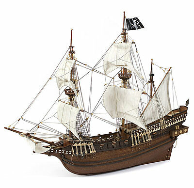 OcCre Buccaneer Wood Model Ship Kit
