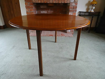 Fab Antique George V Figured Mahogany Circular Gateleg Drop-Leaf Dining Table