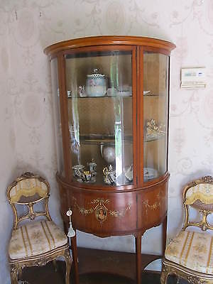 Antique  Shearaton Style China Cabinet