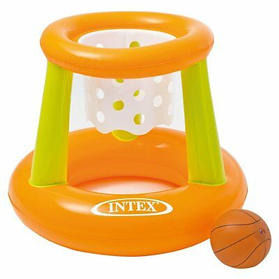 Intex Floating Hoops Fame Pool Basketball Fun Inflatable Swimming And Toy Time