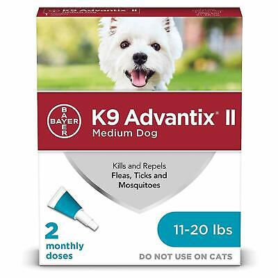 Advantage II For Large Dogs 21-55 lbs, 2 Month Supply