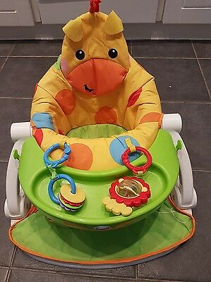Fisher Price Sit Me Up With Tray
