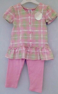 Baby Girls Store Twenty One Top & Leggings Outfit 9-12 Months