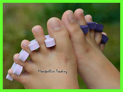 Soft and comfy foam toe and finger separators - UK seller - fast delivery