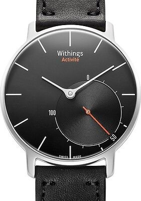 Withings Activité Steel Sapphire - Activity and Sleep Watch HWA01 Swiss Made