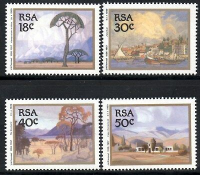 (Ref-10635) South Africa 1989 Landscape Paintings SG.689/692  Mint (MNH)