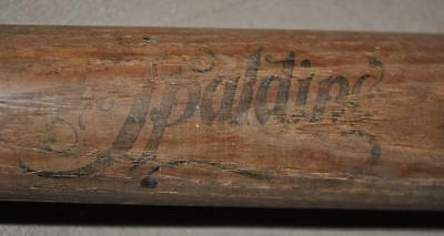 Extremely Rare 1890's The Spalding Baseball Bat . Vintage Old bat 19th century