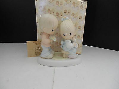 New Precious Moments My Love Blooms For You 521728 Enesco