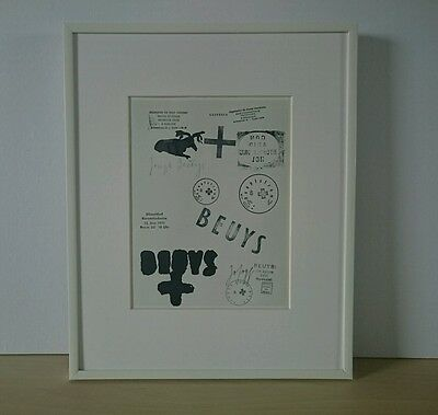 Joseph Beuys - ORIGINAL VINTAGE ART - 1985 Multiples Print Drawings Zeichnungen