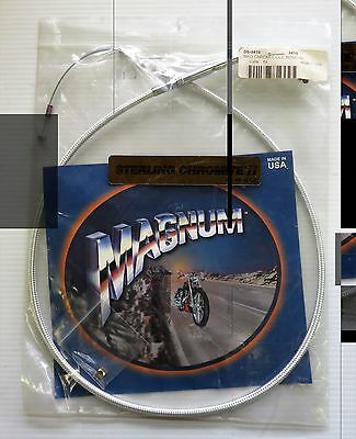 Magnum 3410 Chromite II Braided Idle Cable 32-1/2in. DS-3410  / 1990-95 FXSTS
