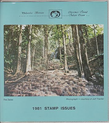 (K28-7) 1981 Christmas Island yearly stamp pack issue