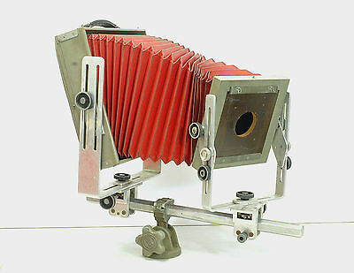 Vintage Burke & James Grover 8x10 view camera with lens board
