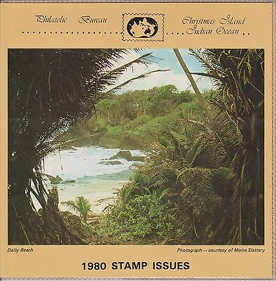 (K28-6) 1980 Christmas Island yearly stamp pack issue